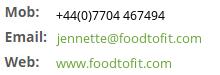 Contact FoodToFit